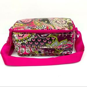 Vera Bradley Lunch Box Paisley Insulated Bag